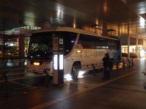 名古屋行き深夜バス