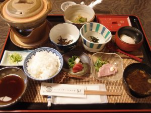 中嶋屋の朝食